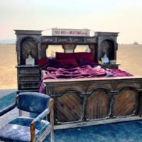 Bedroom on the playa